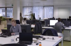 L'espace de coworking de la RueDuWeb à Louvain-la-Neuve